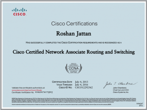 cisco cert